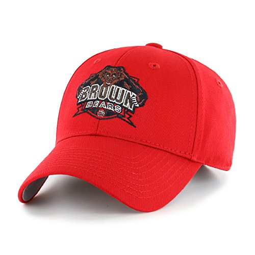 NCAA Brown Bears OTS All-Star MVP Adjustable Hat, Red, One Size