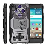TurtleArmor | LG K6P Case | LG X Power Case [Hyper Shock] Hybrid Dual Layer Armor Holster Belt Clip Case Kickstand – Classic Game Controller Review