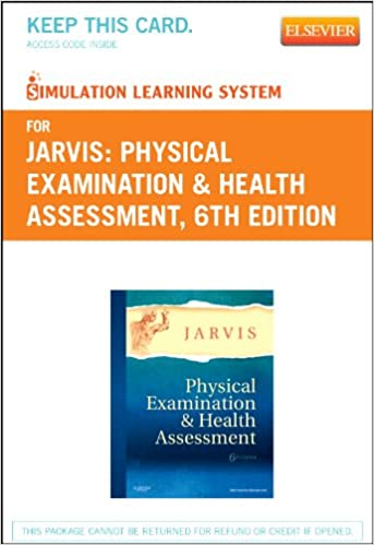 Simulation learning system for physical examination and health simulation learning system for physical examination and health assessment user guide and access code 6e 6th edition fandeluxe Images