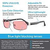 TheraSpecs Haven Blue Light Glasses for