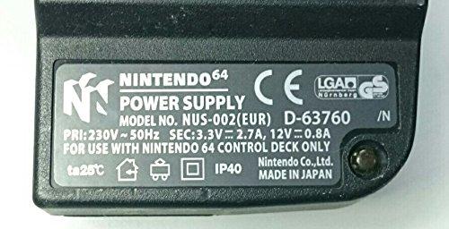 Original Nintendo 64 Netzteil: Amazon.de: Spielzeug
