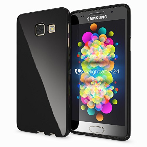 TPU Back Case For Samsung Galaxy A3 (Black) - 7