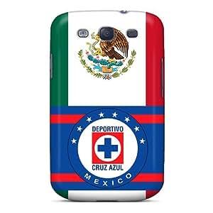 Iphone 6 Hard Back With Bumper Silicone Gel Tpu Case Cover Cruz Azul Mexico
