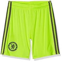 2016-2017 Chelsea Adidas Home Goalkeeper Shorts (Kids)