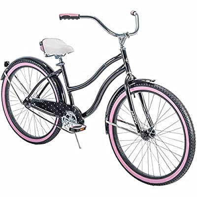 """Huffy* 26"""" Cranbrook Women's Cruiser Bike with Perfect Fit Frame, Black"""