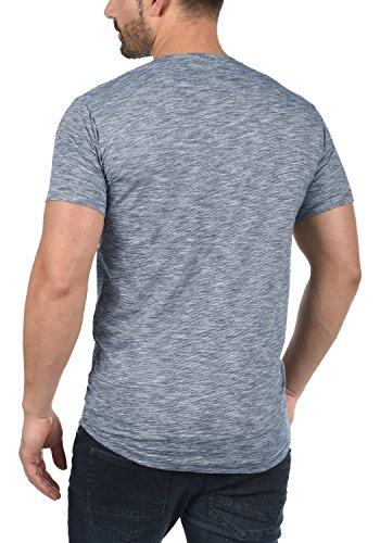 Camisa algod de redondo Figos con los cuello corta de manga 100 hombres de rBUq7r