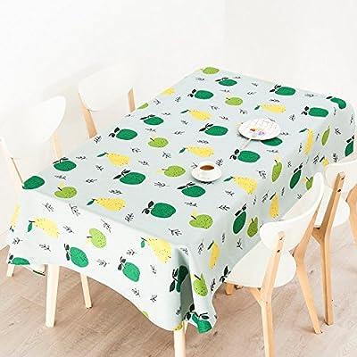 140 * 180 cm mantel verde amarillo frutas moderno, diseño de ...