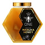Artisanal, Small-Batch, Limited-Edition, Ultra-Premium ONE Manuka Honey. Certified 20+(MGO829+). Exclusive GLASS JAR Packaging. 100% Genuine New Zealand Manuka Honey. 250g(8.8oz)