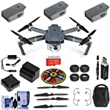 DJI Mavic Pro - Fly More Combo Basic Kit Includes 32GB SDHC Card, Propeller Guard, Freewell ND/CP Filter Kit 4 Pack, xpoImaging Collapsible Pad, Cleaning Kit, Card Reader
