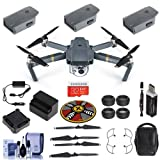 DJI Mavic Pro - Fly More Combo '' Basic Kit '' Includes 32GB SDHC Card, Propeller Guard, Freewell ND/CP Filter Kit 4 Pack, xpoImaging Collapsible Pad, Cleaning Kit, Card Reader