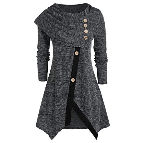 Mlide Womens Gothic Jacket Vintage Black Steampunk Knight Team Victorian Long ()