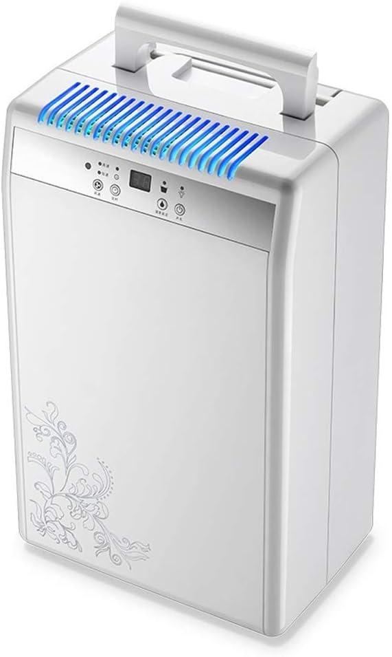 PNYGJPCSJ Deshumidificador silencioso for el hogar, purificador de Aire Inteligente Sótano de Oficina Secadora de Ropa de Alta Potencia Secadora de absorción de Humedad -1500ml Tanque de Agua: Amazon.es: Hogar