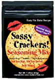 Sassy Crackers Seasoning Mix Roasted Garlic 4 Pack