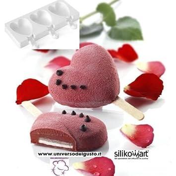 Silikomart Mini Heart Ic Moule En Silicone Mini Cœurs