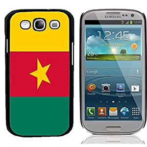 Qatar National Flag Hard Plastic and Aluminum Back Case for Samsung Galaxy S3 I9300 With 3 Pieces Screen Protectors