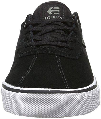 Etnies Scam Vulc, Chaussures de Skateboard Homme Noir (979 , Black/White/Gum)