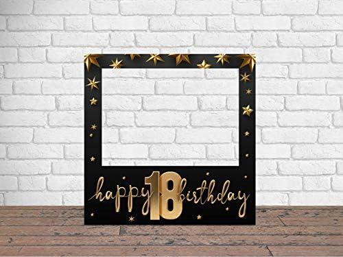 Photocall 18 Cumpleaños Atrezzos Eventos Cumpleaños o Celebraciones puntuales | Medidas 100x100cm | Ventana y Atrezzos Troqueladas | Photocall ...