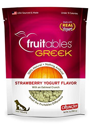 (Fruitables Greek Strawberry Yogurt Crunchy Dog Treats)