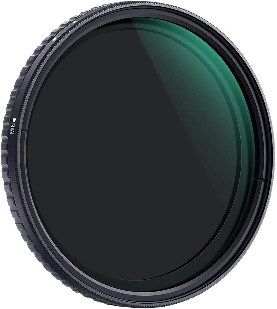 K/&F Concept 49mm ND8 to ND128 Variable Neutral Density Filter Slim Fader ND Filter 49mm 3-Stop to 7-Stop for Camera Lens NO X Spot,Nanotec,Ultra-Slim,Weather-Sealed