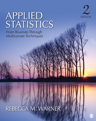Download Applied Statistics: From Bivariate Through Multivariate Techniques Pdf