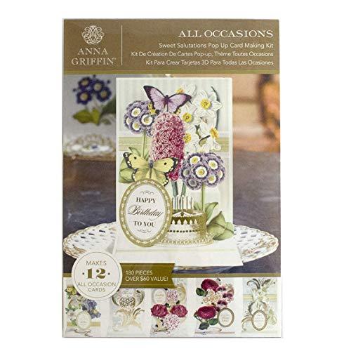 Anna Griffin SB745-EA Sweet Salutations Pop Cardmaking Kit, 12.20
