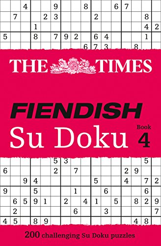 Download The Times Fiendish Su Doku Book 4 ebook