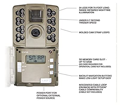 Moultrie A-Series Game Camera (2017) | All Purpose Series | 0.7 s Trigger Speed | Moultrie Mobile Compatible
