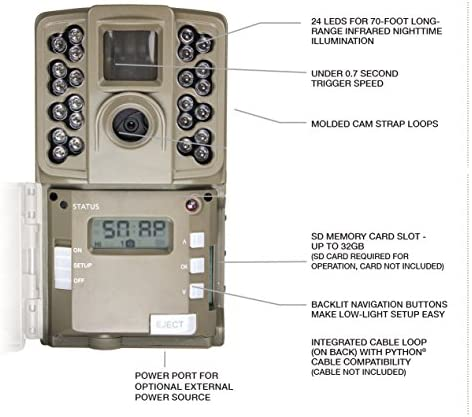 Moultrie 2017 Game Camera All Purpose Series 0.7s Trigger Speed Moultrie Mobile Compatible