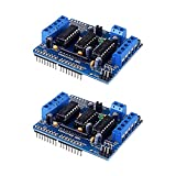 L293D Drive Module Motor Drive Shield Expansion Board, HONG111 Motor Board Motor Control Board Compatible with Arduino UNO, Arduino Mega 2560, Duemilanove, Diecimila