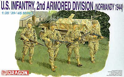 1 35 US Infantry 2nd Armored D by Dragon Models USA