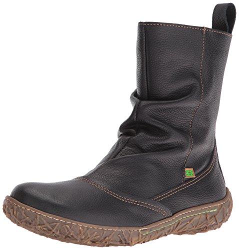 El Naturalista Women's N722 Soft Grain Slouch Boots Black (Black N01) iHztihwN