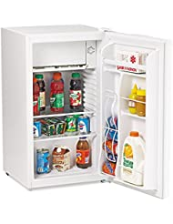 Avanti AVARM3306W 3.3 Cu. Ft. Refrigerator with Chiller Compartment, White