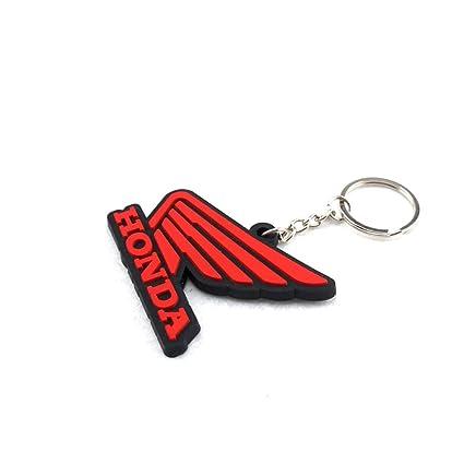 Amazon.com: Keyring Motor Bike Rubber Keychain Key Chain Key Ring Gift For Honda CBR REPSOL: Automotive