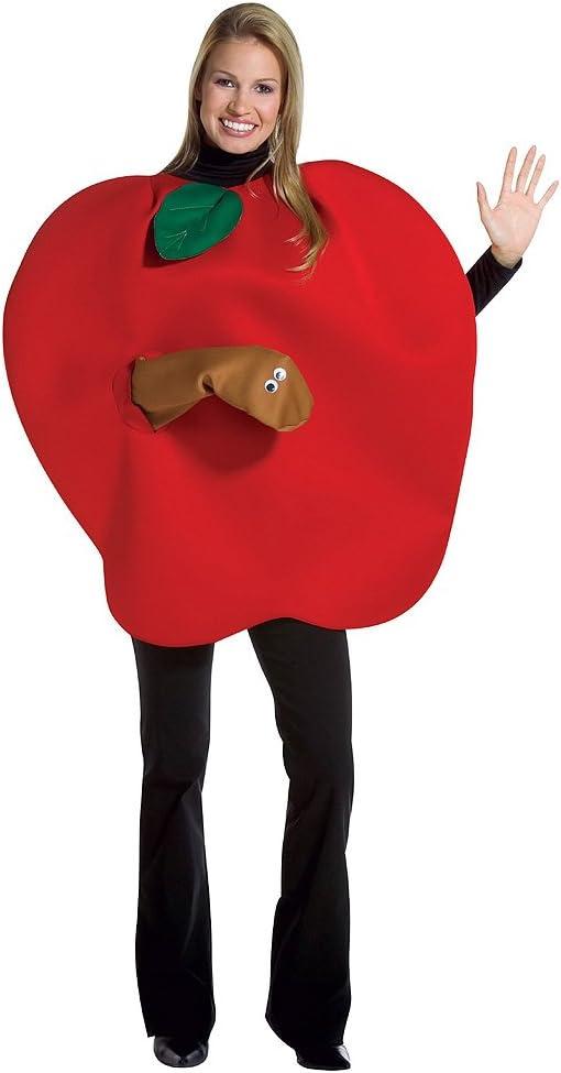 Rasta - Disfraz de manzana para mujer, talla L (RAS-7095): Amazon ...