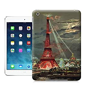 LarryToliver Eiffel Tower Vintage Lithographic Print Exposition Universelle case battery cover for ipad mini