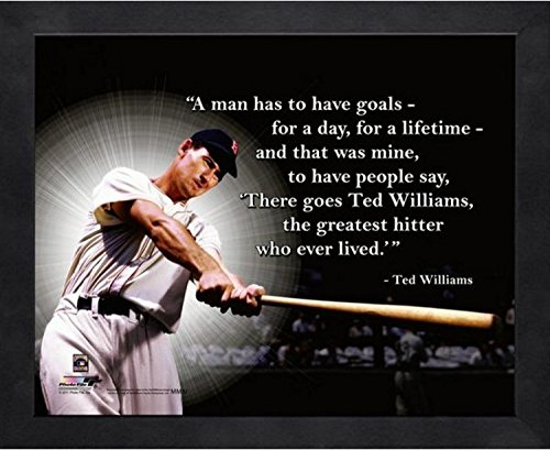 Ted Williams Boston Red Sox ProQuotes Photo (Size: 12