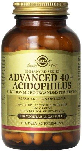Альтман Расширенный 40 Plus Acidophilus Растительные капсулы, 120 Граф