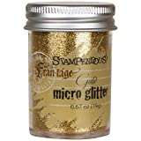 Stampendous MG02 Frantage Micro Glitter for Arts and Crafts, Gold