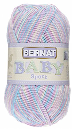 Bernat Baby Big Ball Sport Yarn, Ombre, 9.8 Ounce, Pyjama Pa