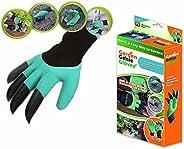Luva Para Jardinagem Com Garra Para Cavar Semear Jardim Garden Gloves (888164)