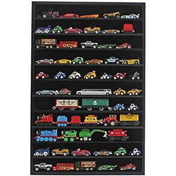 Amazon.com: Hot Wheels Matchbox 1/64 scale Diecast Display Case ...