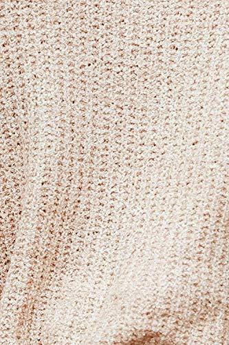 Casual Autunno Carmen Baggy Camicetta Jumper Khaki Elegante Maniche Donna Lunghe Bluse Giovane A Primaverile Pullover Maglia Tops Women Moda Maglieria nqxPFvrYqw