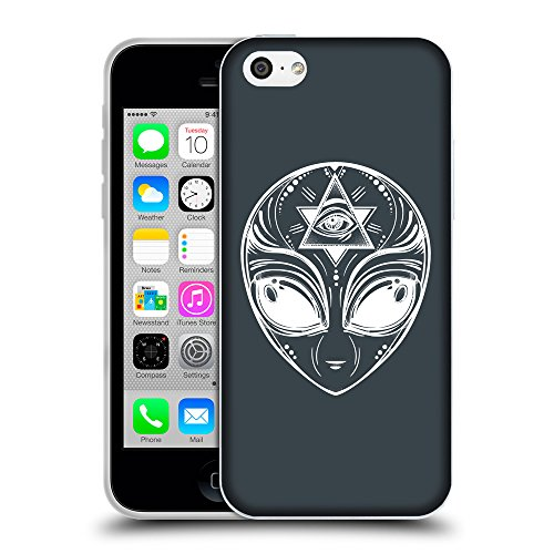 GoGoMobile Coque de Protection TPU Silicone Case pour // Q09010606 extraterrestre 2 Arsenic // Apple iPhone 5C