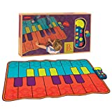 QXMEI Children's Music Piano Blanket Sports Fitness Blanket Dance Mat Fun Games