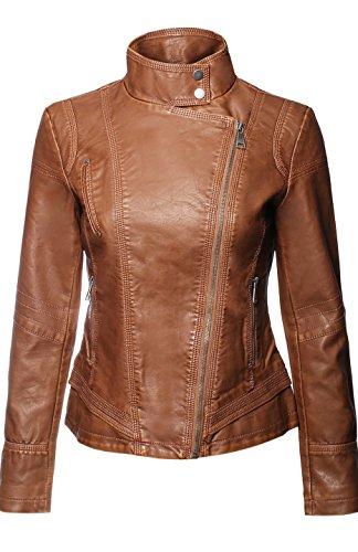 Zip Front Moto Jacket - 6