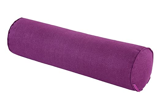 CN dragon algodón y lino cojín cómodo cilíndrico almohada ...