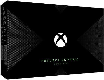 Xbox One X Project Scorpio Edition 1TB Console [Importación inglesa]: Amazon.es: Videojuegos