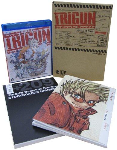 TRIGUN Badlands Rumble [Blu-ray+DVD] [Limited Edition]