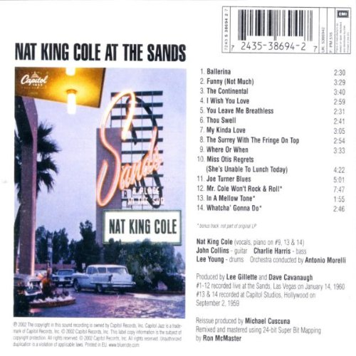 At the Sands by Blue Note Records