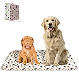 Cheap Washable Training Pee Pads for Dogs and Cats, 2-Pack, Medium (27×31), Absorbent Travel Pee Pads for Dogs – Machine Washable and Reusable – for Puppy, Medium and Small Dogs